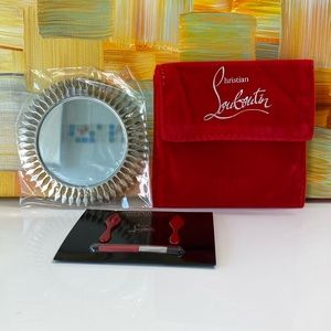 Christian Louboutin Pocket Mirror and Pouch